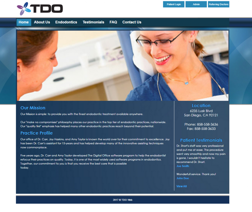TDO Software | Endodontic Practice Management Softwaree