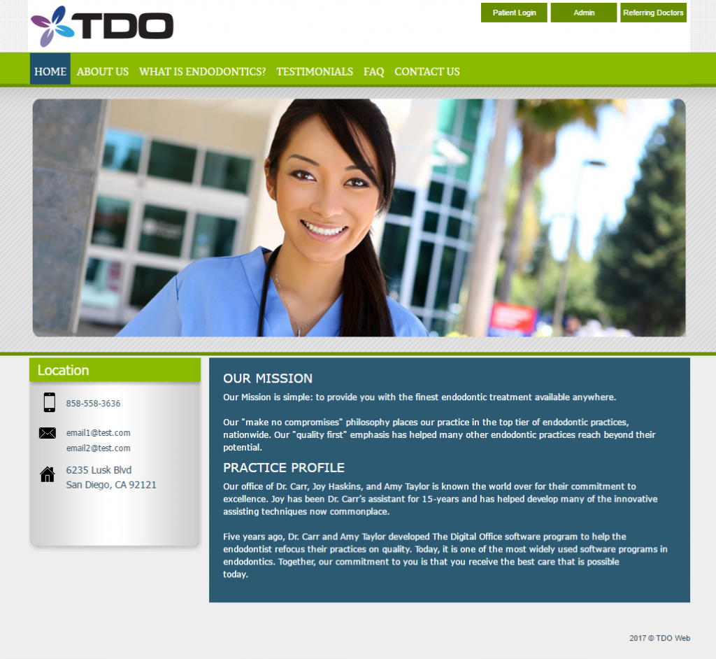 TDO Software - Premier Template 4