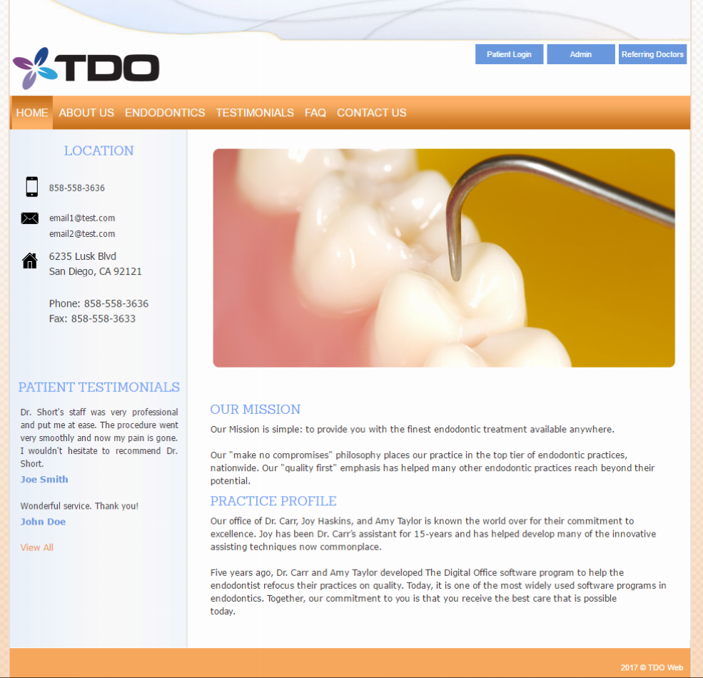 TDO Software - Premier Template 5