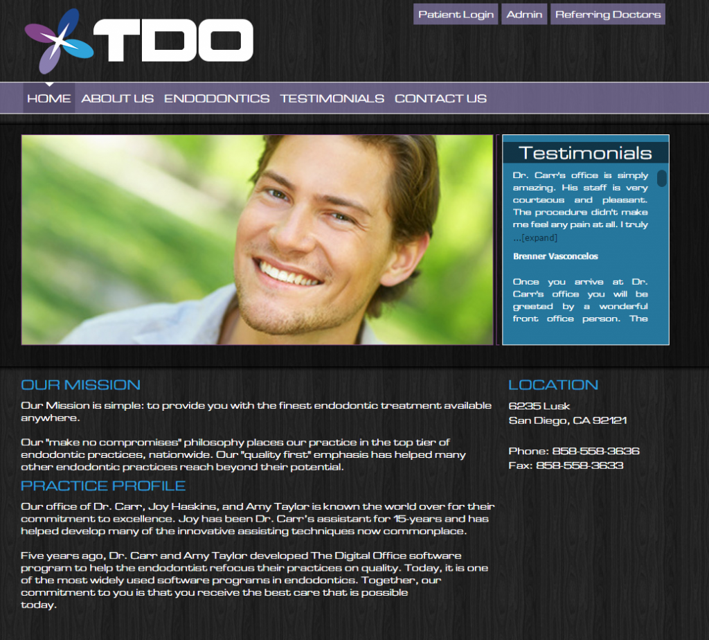 TDO Software - Premier Template 7