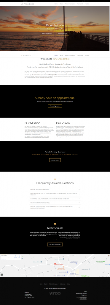 Wordpress Template 1